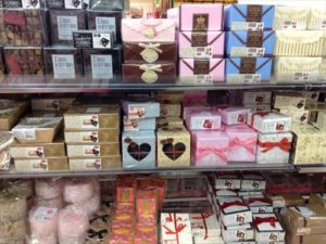 ダイソーでバレンタイン用の箱