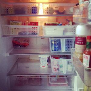 冷蔵庫内の仕切り ダイソー