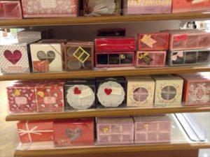 バレンタインギフトボックス セリア