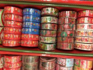 クリスマスマスキングテープ セリア