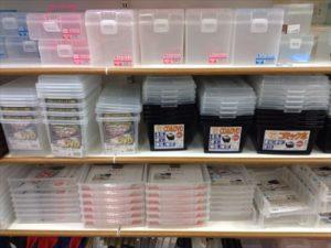 透明プラスチックの書類ケース セリア