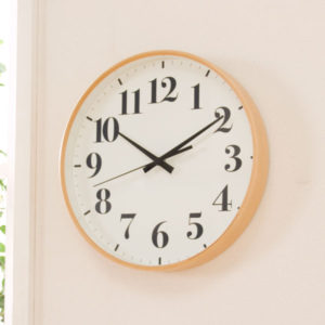 掛け時計ルナレス ナチュラル