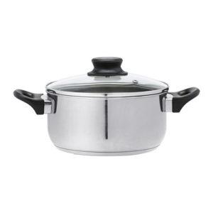 イケア ステンレススチール製の鍋
